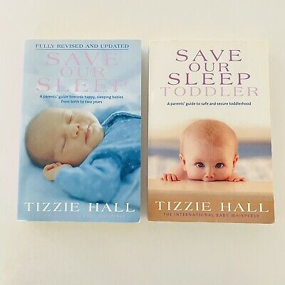 AU24.95 • Buy SAVE OUR SLEEP & Save Our Sleep Toddler GUIDE Babies/kids 0-3 TIZZIE HALL Books