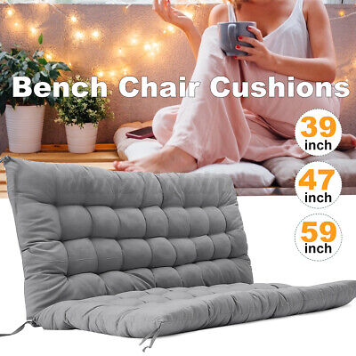 £31.99 • Buy  Chair Cushions Swing Bench Home Garden Seat Backrest Pad Replacement 2/3 Seater
