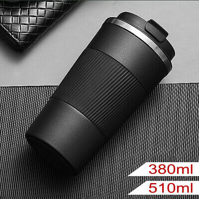 AU19.89 • Buy Travel Coffee Mug Cup Thermal Flask Vacuum Insulated Thermos Stainless Steel AU