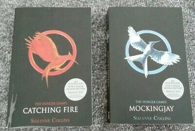 £2.99 • Buy The Hunger Games 2 Books: Catching Fire And Mockingjay Suzanne Collins