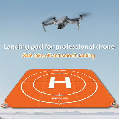 AU57.30 • Buy Drone 65CM Landing Pad 25'' Drone Pad Launch Helipad For FPV Combo Accessories