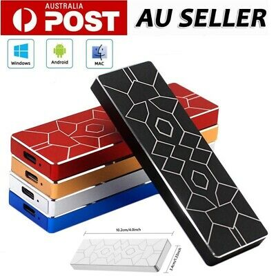 AU56.89 • Buy 4TB USB 3.1 SSD Solid State Drives Portable External Hard Drive Disks PC Laptop