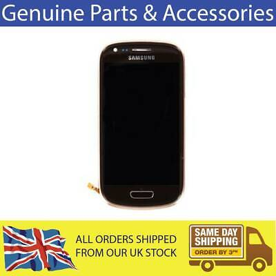 £15 • Buy GENUINE SAMSUNG GALAXY S3 MINI I8190 LCD WITH TOUCHSCREEN DIGITIZER BROWN GH9