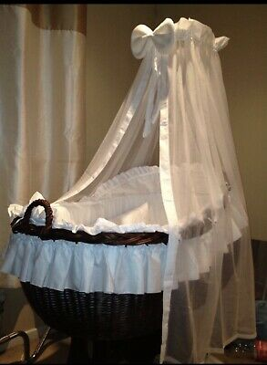 £150 • Buy Wicker Crib And Stand
