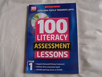 £3.30 • Buy 100 LITERACY ASSESSMENT LESSONS Year 1 + CD ROM - New - RRP £35.00
