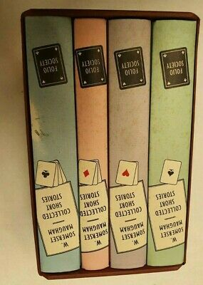 £24 • Buy (NUN) W. Somerset Maugham Collected Short Stories- 4 Box Set- Folio Society   #1