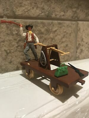 £6.50 • Buy Timpo Cowboy And Hand Car