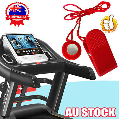 AU8.56 • Buy Treadmill Safety Key Lock Running Machine Switch Security Magnetic Fitness VZ