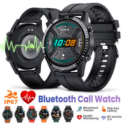 AU50.99 • Buy Waterproof Smart Watch Blood Pressure Oxygen Heart Rate Monitor For Android IOS
