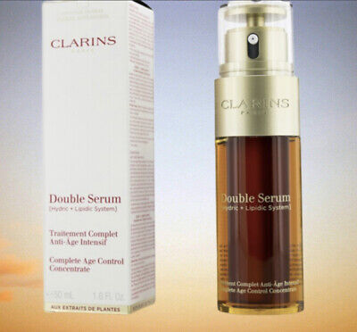 £35.99 • Buy Clarins Complete Age Control Double Serum - 50ml - 100%  PERCENT AUTHENTIC