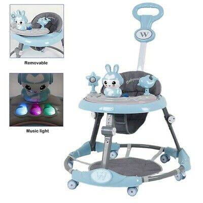 £42.98 • Buy Baby Walker First Steps Push Along Bouncer Activity Music Ride On Car Melody