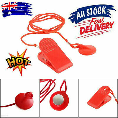 AU16.40 • Buy 2X Running Machine Safety Safe Key Treadmill Magnetic Security Switch Lock New