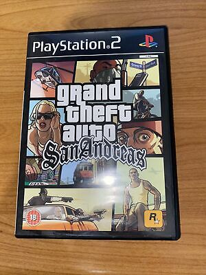 £1.10 • Buy GRAND THEFT AUTO San Andreas Playstation PS2 2004 Game PAL