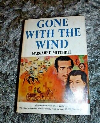 £29.22 • Buy Gone With The Wind By Margaret Mitchell Vintage 1964 Macmillan Co Book Club Ed