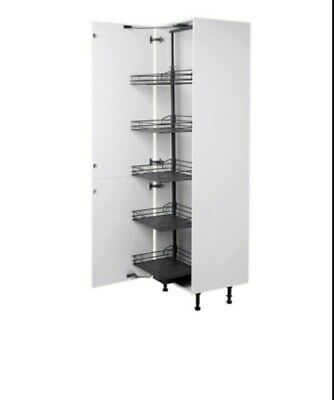 £135 • Buy BQ PULL OUT TALL LARDER UNIT WITH 5 BASKETS FOR 600MM (60cm) B&Q RRP £268