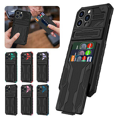 AU10.19 • Buy For IPhone 13 12 Pro Max 11 XS XR 8+ 7 Hybrid Wallet Stand Card Slot Case Cover