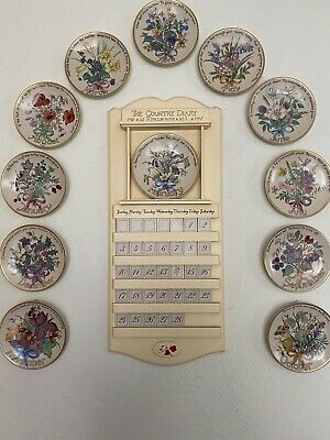 £99 • Buy The Country Diary Of An Edwardian Lady Plates And Wall Calendar - Complete Set