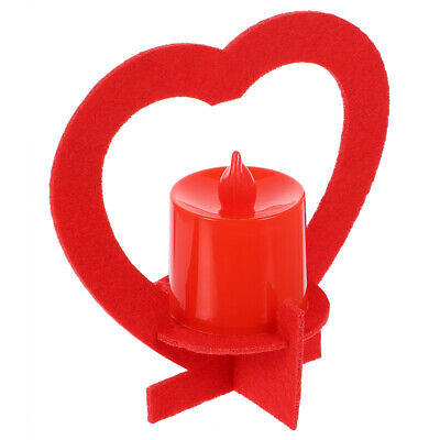 £7.08 • Buy 1 Set Romantic Heart-shaped Convenient Electronic Candles For Valentine's Day