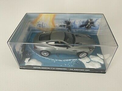 £4.99 • Buy James Bond Car Collection ASTON MARTIN V12 VANQUISH Die Another Day 1:43 Mint