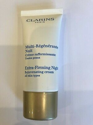 £12.99 • Buy CLARINS Extra-Firming  Night Cream, All Skin Types, 30ml Sealed