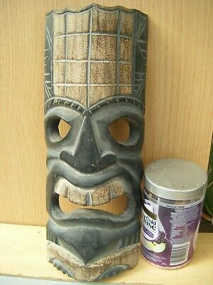 £6.50 • Buy Carved Wooden African Mask