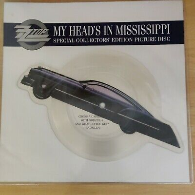 £10 • Buy Zz Top My Head's In Mississippi. Special Collector's Edition Picture Disk .vinyl