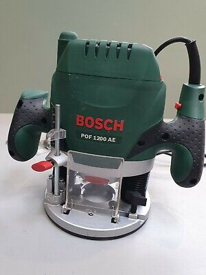 £115 • Buy Router Pro BOSCH P0F 1200 AE  Router & Cutting  Bit  Set.240v Mains. 3.4kg