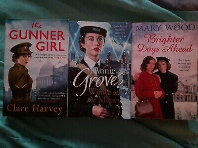 £0.99 • Buy Clare Harvey The Gunner Girl. Annie Groves Winter On The Mersey. Mary Wood...