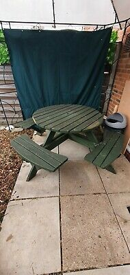 £80 • Buy Large Outdoor Garden Picnic Bench 8 Seater