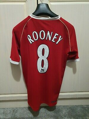 £11.50 • Buy Manchester United 2006/2007 Home Football Shirt Rooney #8 Price Starting At £1