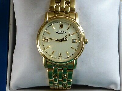 £40 • Buy Gents Rotary Dolphin Gold Plated Wrist Watch