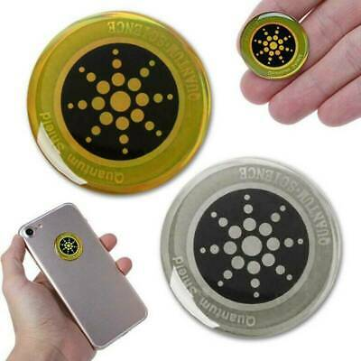 £2.69 • Buy Quantum Shield Anti Radiation Sticker For Mobile Phones Tablets EMF Protection