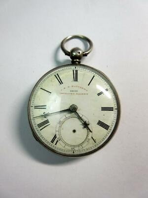 £28 • Buy Antique SILVER CONSULAR CASED POCKET WATCH By JEH Mathews Of Oswestry, C1859!