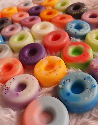 £3.50 • Buy Highly Scented, Long Lasting Donut Wax Melts. Hand Made. High Quality. Bag Of 4