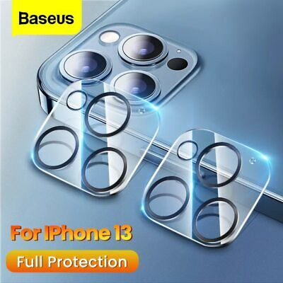 AU7.95 • Buy 2x Baseus Phone Camera Lens Protector Tempered Glass For IPhone 13 Pro Max Mini