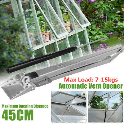 £13.89 • Buy Greenhouse Window Opener Temperature Automatic Vent Control Double Springs Solar