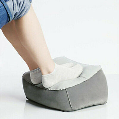 AU13.67 • Buy Inflatable Foot Rest Cushion Travel Air Pillow Office Home Leg Footrest Relax