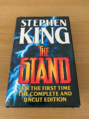 £12.99 • Buy The Stand Stephen King Complete Uncut Edition Hardback 1990 Guild Publishing
