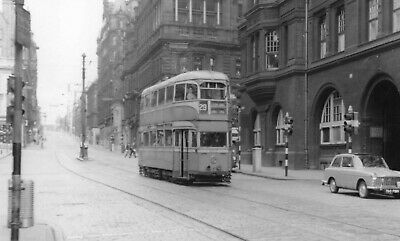 £0.85 • Buy Glasgow Corporation Tram No 1258 Passing Central Station