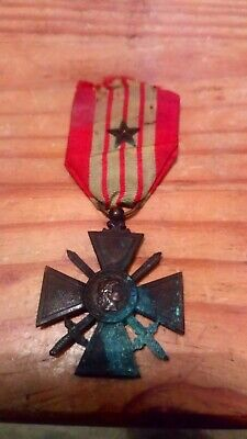 £14 • Buy French Forces /foreign Legion Ww2 Croix De Guerre 1939 With Commendation Star