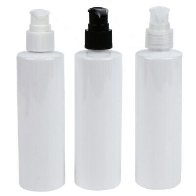 £2.13 • Buy 200ML Refillable Bottle Pressed Pump Dispenser Lotion Shampoo Cosmetic Contai F/