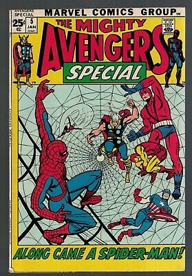 £39.99 • Buy Marvel Avengers 5 Special Annual Spiderman 6.0  FN 1st Appearance Kang Reprint