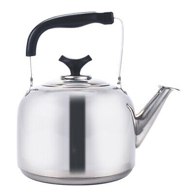 AU32.99 • Buy Kitchen Large Whistling Kettle Stainless Steel Tea Pot Camping Stove Top 6.5L