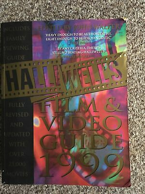 £9 • Buy Halliwell's Film And Video Guide: 1999 By Leslie Halliwell (Paperback, 1998)