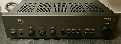 £129.99 • Buy NAD 3020  Stereo Power Amplifier With Phono Stage  A Series