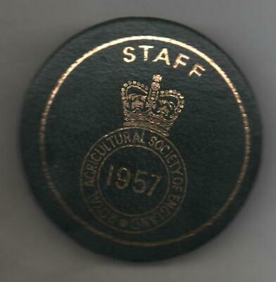 £5.50 • Buy 1957 Royal Agricultural Society Of England  Badge Staff