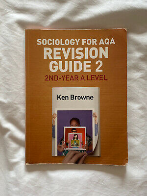 £4 • Buy AQA Sociology Alevel And Year 2 Revision Guide