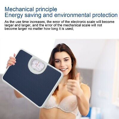 £0.01 • Buy Accurate Mechanical Dial Bathroom Scales Weighing Scale Measure Body Weight Uk.