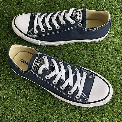 £19.99 • Buy   Converse Trainers Size 7 UK Navy Blue Low Tops   (35)