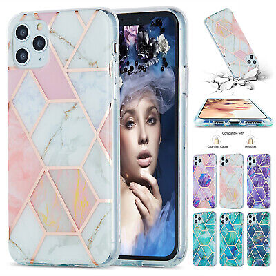 AU9.99 • Buy For IPhone 11 13 Pro Max 12 XS XR 8 7 SE2 Marble Soft TPU Rubber Slim Case Cover